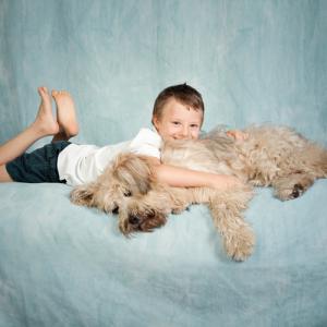 Storie di un'amicizia Calendario 2017 - Foto bambino e cane
