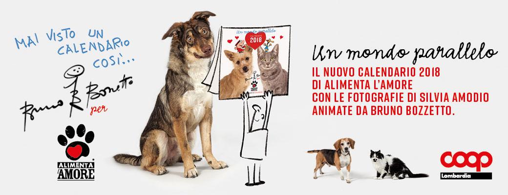 Banner Calendario Alimenta l'Amore 2018