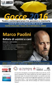 Marco Paolini a Varese