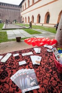 San Valentino al Castello Sforzesco con Alimenta l'Amore