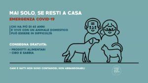 COVID-19 al via l'iniziativa Mai solo, se resti a casa