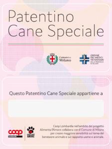 A Milano al via i corsi per il Patentino Cane Speciale